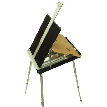Cavalete de pintura em aluminio frances artcamargo - Pintura de aluminio ...