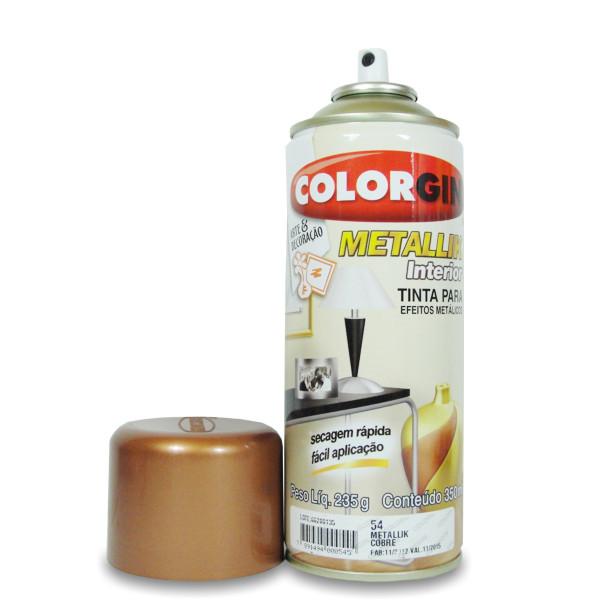Bolsa De Couro Que Solta Tinta : Tinta spray cobre metallik colorgin artcamargo