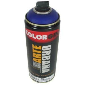 tinta spray arte urbana 927 azul mackenzie