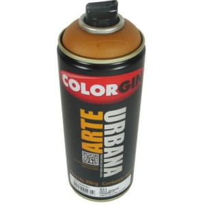 tinta spray arte urbana 931 caramalo