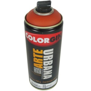 tinta spray arte urbana 932 cacau