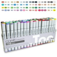 Marcardor Copic Marker Sketch B 72 Cores
