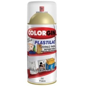 verniz spray plastilac colorgin Fosco