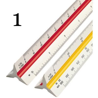 Escalímetro Trident 30cm 7830 1