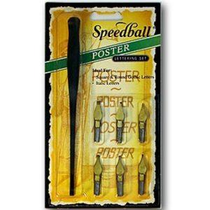 Kit Caligrafico Speedball Poster