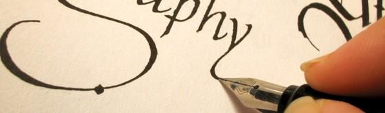 papel para caligrafia