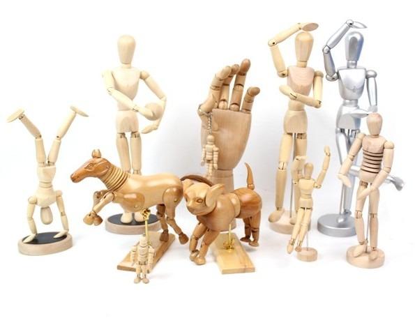 Boneco Articulado Para Desenho  ArtCamargoArtCamargo -> Boneco Banheiro Feminino