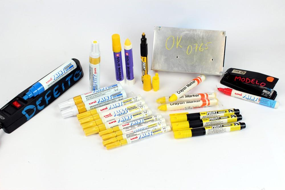 marcador industria amarelo permanente