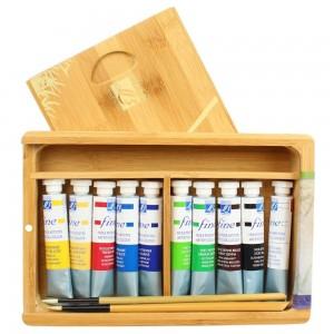 Tinta Óleo Lefranc & Bourgeois Coffret Natura Box