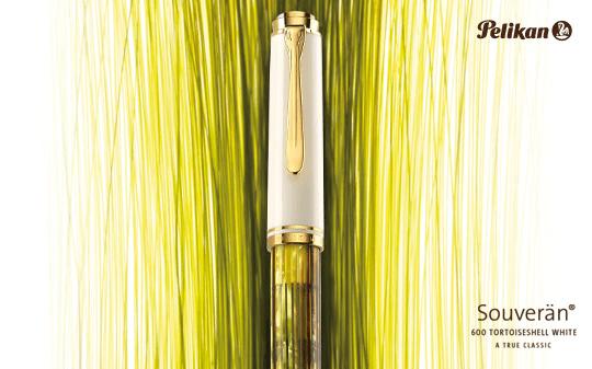 Caneta Tinteiro Pelikan M400 Tortoiseshell White