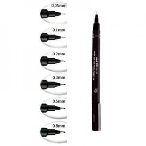 caneta naquim descartavel uni pin 08